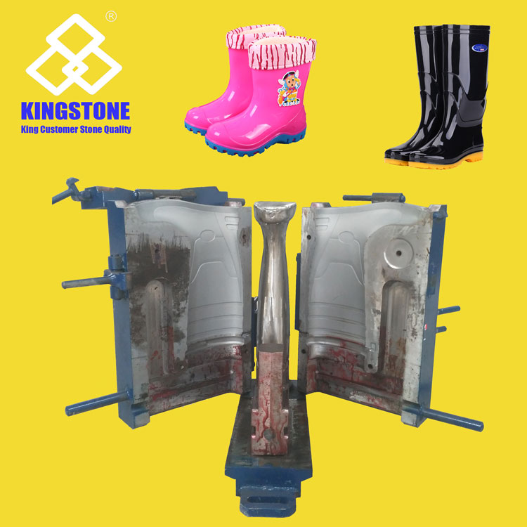Automatic One Two Three Color Plastic PVC Wellington Boots / Wellies Production Line