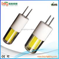 snow white ceramic socket g4 led saphire corn bulb,crystal night light led ww yellow light g4