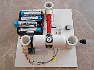 simple homemade electric motor. Simple Electric Motor Kit With Optical Control - DIY Science Projects \u0026 Kids Education Homemade
