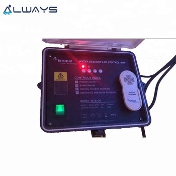 Emaux Swimming Pool and Spa Underwater Light Remote Controller Waterfall Control Box