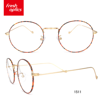 10b6b4d83a5 1511 Round Metal Children Eyeglasses Optical Frames With Logo - Buy ...