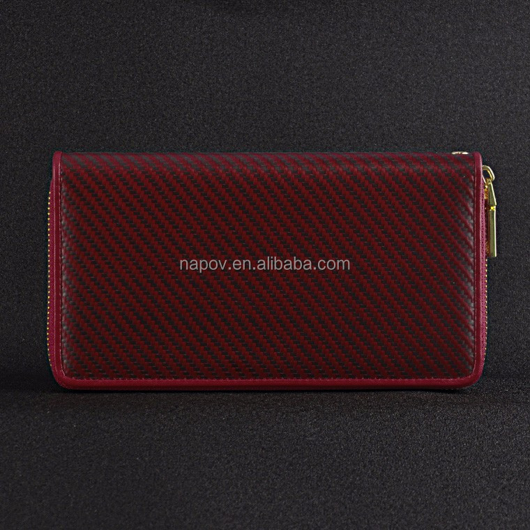 2017 Hot Sale Purse New Model Female Purses in Wallets and Carbon Fiber Ladies Handbag