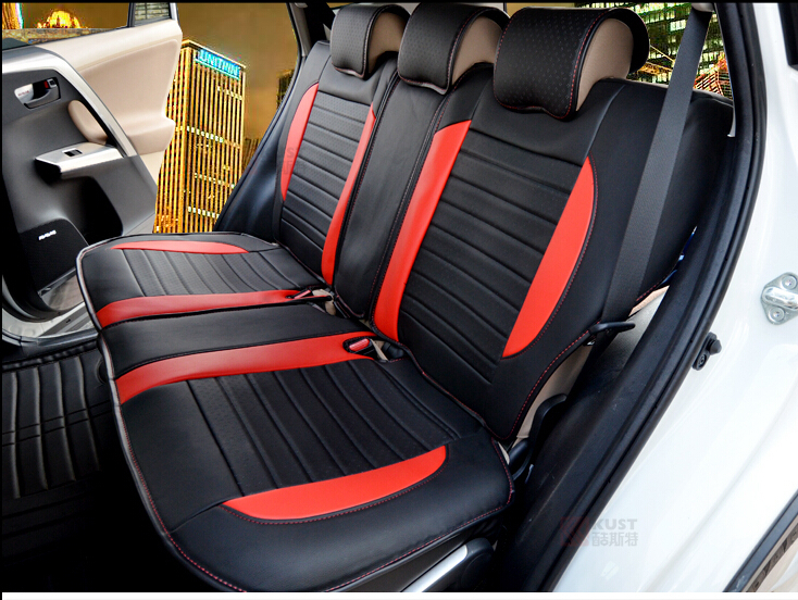 2015 newly special car seat covers for toyota rav4 2015 breathable comfortable leather seat. Black Bedroom Furniture Sets. Home Design Ideas