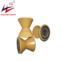Ugroove and V grooved PU polyurethane or nylon rollers