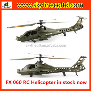 In stock 2.4G 4 CH Single Blade RC Helicopter Gyro 2.4GHZ remote control helicopter FX060