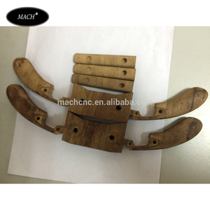CNC Customized Walnut Wood Parts for Classical Clock