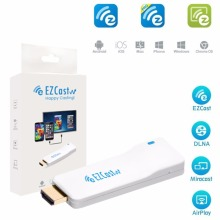 EZCast Wire TV Wireless EZcast Dongle 1080p Airplay DLNA TV Stick for Mirroring Streaming Hd~mi Converter