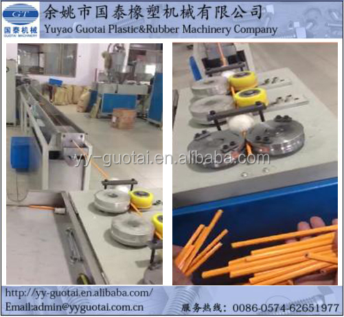 Customized Plastic Pencil Extruding Machine/Making Machine