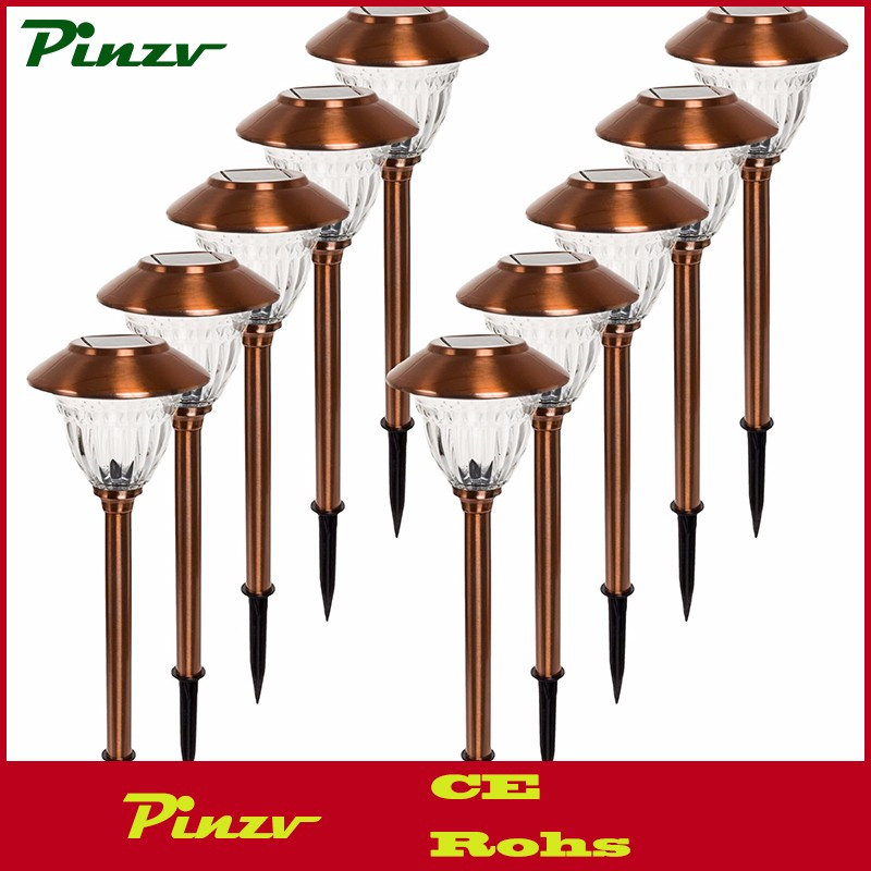 Stainless Steel Copper Led Solar Path Lights