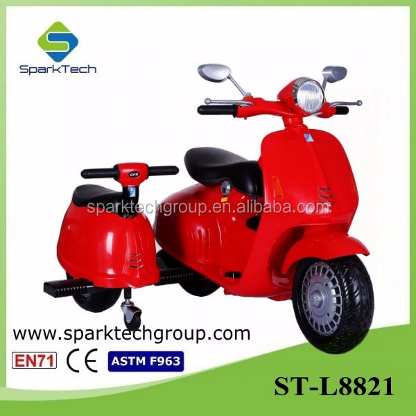 Newest Perfect Design Two Seats Baby Tricycle, Children Baby Tricycle,Electric Tricycle for Kids