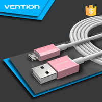 Vention New Design Colored Metal Data Quick Charging Micro USB Cable for Android