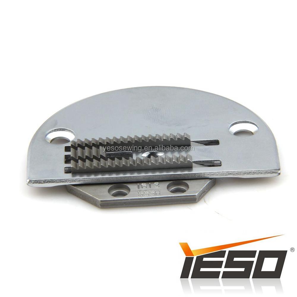 HEAVY NEEDLE PLATE 1109555H W//FEED DOG LOCKSTITCH INDUSTRIAL SEWING MACHINE PART