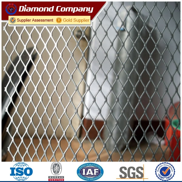 expanded metal lath,reinforced metal security mesh lath,diamond Corner Mesh