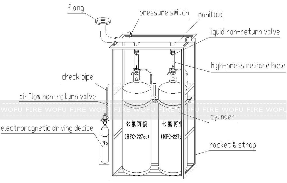 4 5l High Pressure Nitrogen Gas Cylinder N2 Buy Nitrogen