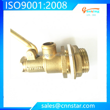 yuhuan factory brass float valve with plastic ball
