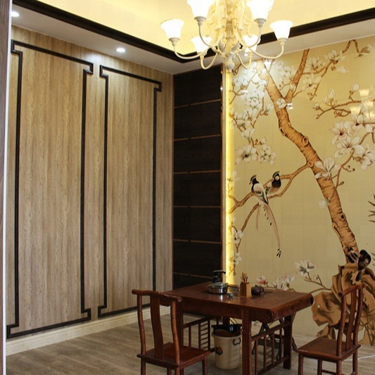 Easy installation Fireproofing integrated wall panel for indoor wall decoration