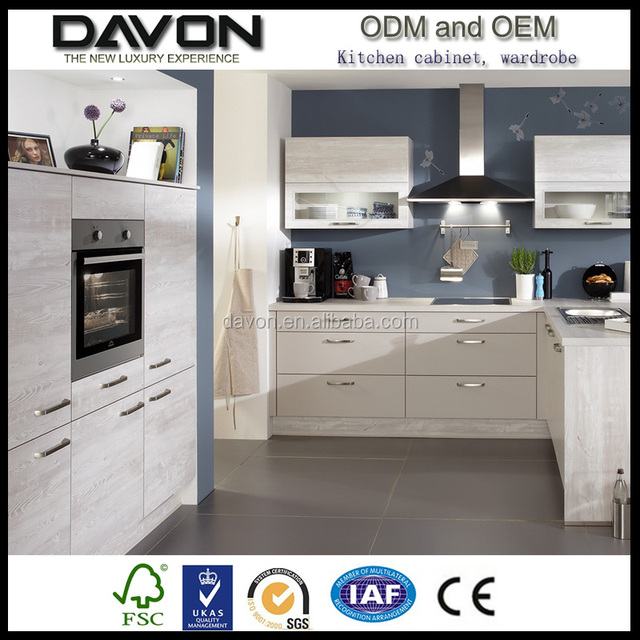 Beautiful Building Construction Material MFC Kitchen Cabinet Melamine Materials