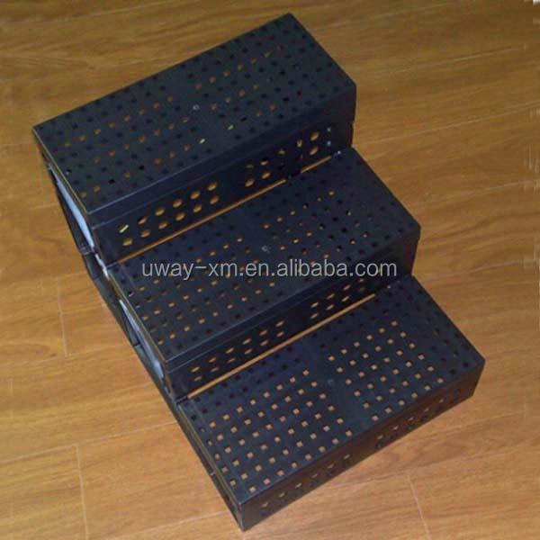 alta calidad plegable de plstico pet escaleras para perros y gatos