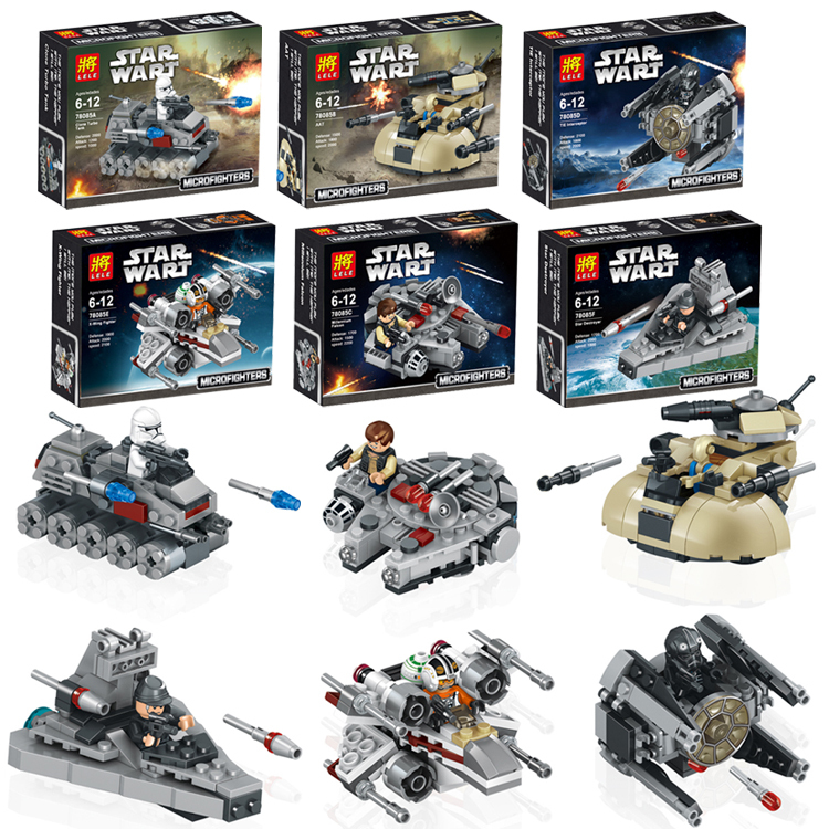 New 2014 Star Wars Figures Toys 8pcs/lot Building Blocks Sets Model Pilot Classic Toys Bricks Compatible With Lego