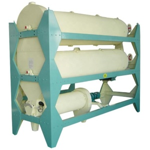Indented cylinder seed cleaner grader for thailand Jasmine Rice long and short grain separation indented cylinder separator