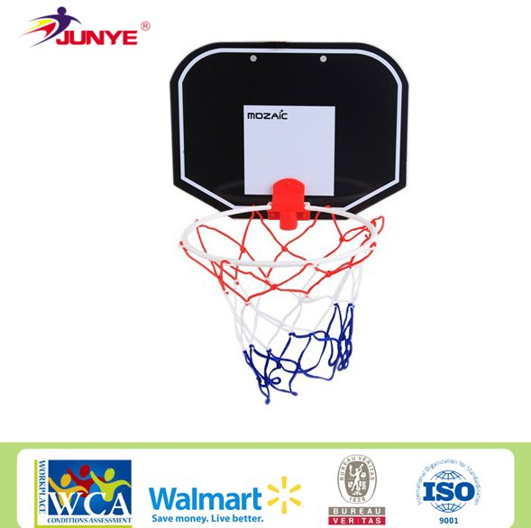 Hanging Door basketball hoop backboard