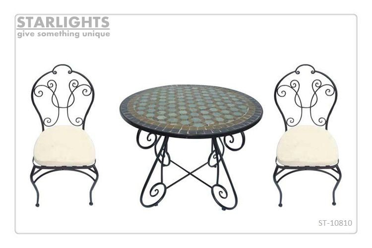 Wholesale Mosaic Bistro Tables Chairs rion bistro garden set