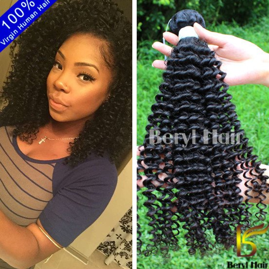 TOP 2016 new products wholesale raw unprocessed virgin cambodian kinky curly hair