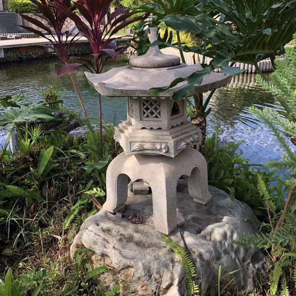 Japanese Type Stone Pagoda Oriental Lantern Garden   Buy Stone  Pagoda,Japanese Pagoda Garden,Pagoda Oriental Lantern Product On Alibaba.com