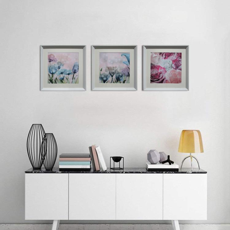 Turlip Flor Wall Art Decor Modern Floral Emoldurado Pintura Da Lona Imagem