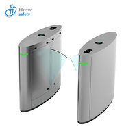Hot sales automatic ticket validator flap turnstile gate for train station