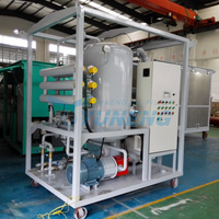Two-stage Vacuum Oil Purifier /Transformer Oil Filtration System/Vacuum Oil Filling Machine