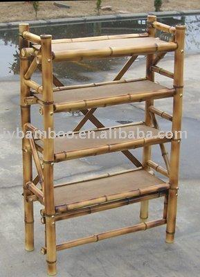 Bamboo Bookshelf Shelf Product On Alibaba