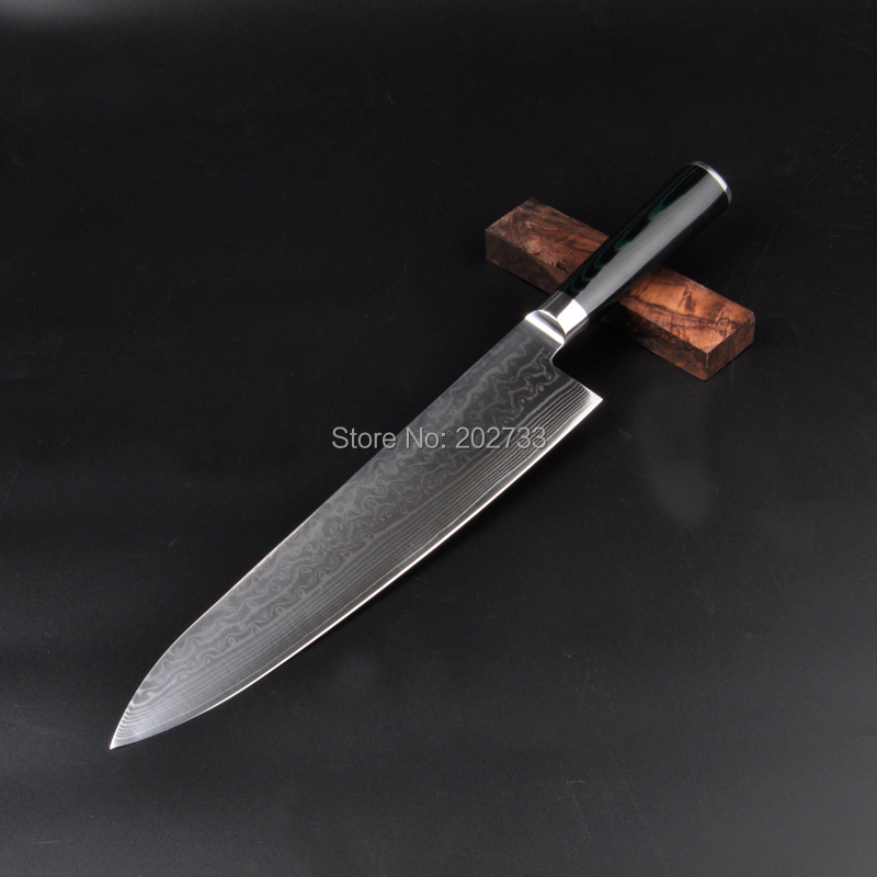 knife with high quality damascus knives micarta handle