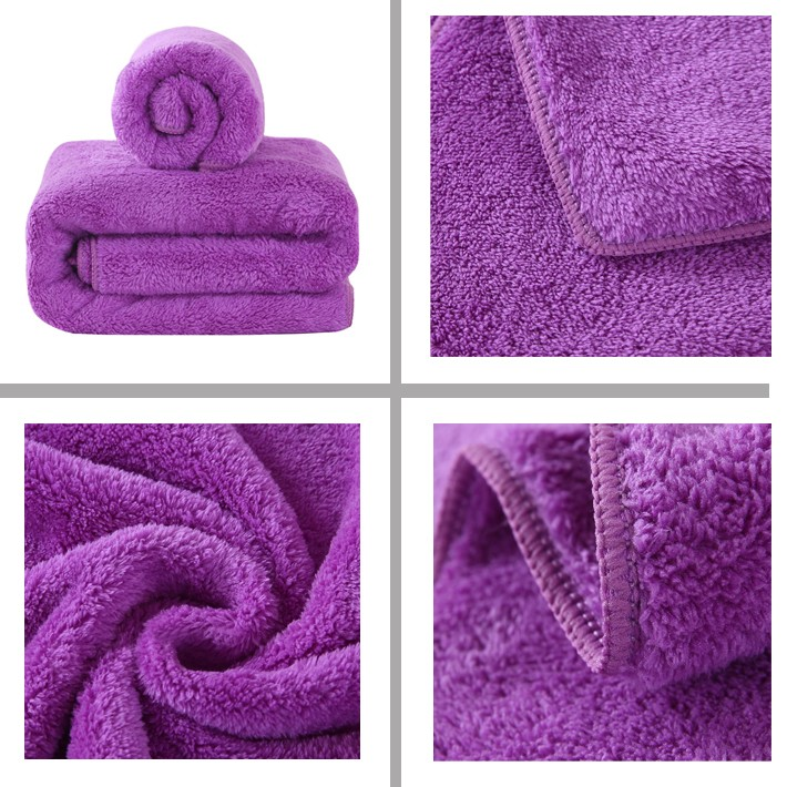 For Curly Hair 80 Polyester 20 Polyamide Custom Brand Towel Microfiber