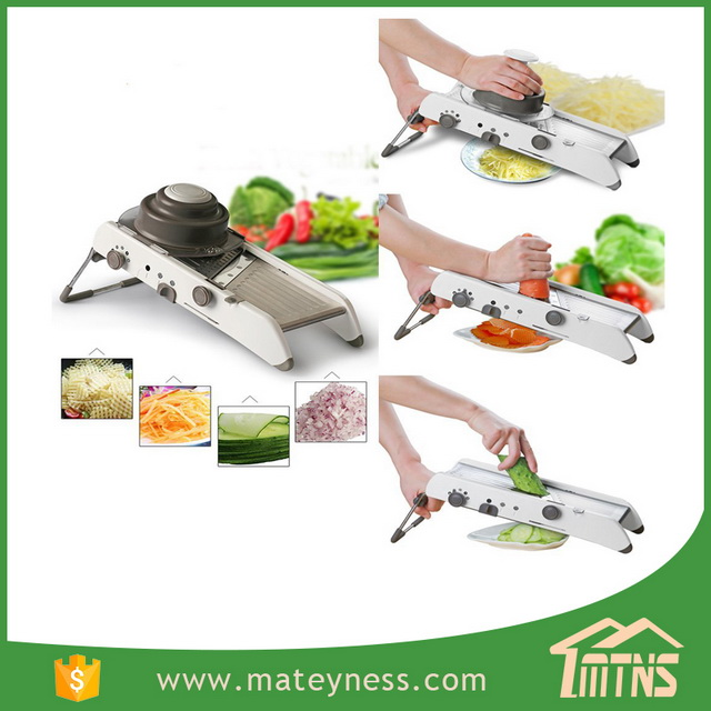 Professional Vegetable Grater Adjustable Stainless Steel Mandoline Slicer