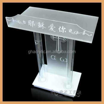 Gh-s016 Modern Church Pulpit,Church Pulpit Designs,Plexiglass ...