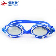 hot sale popular design silicone swim goggles professional for water sport