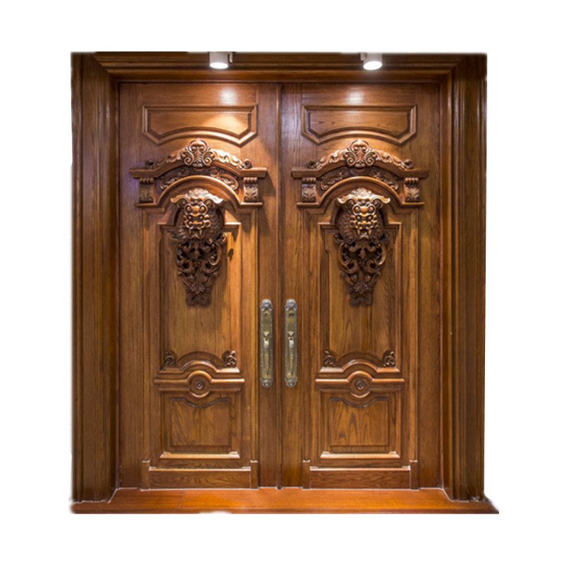 Contemporary Modern Style Exterior Solid Wooden Front Door Design View Door Design Cbmmart Product Details From Cbmmart Limited On Alibaba Com