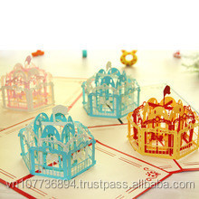 Papercraft handmade pop up <span class=keywords><strong>kartu</strong></span> ucapan 3d