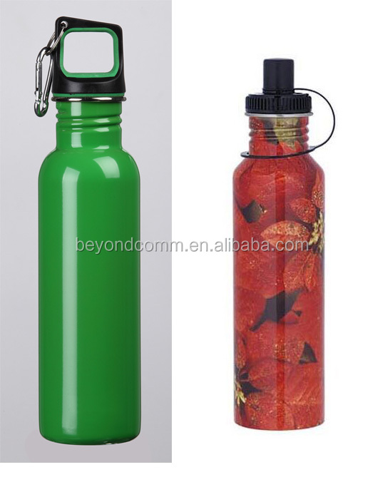 Triangle Aluminum water bottle