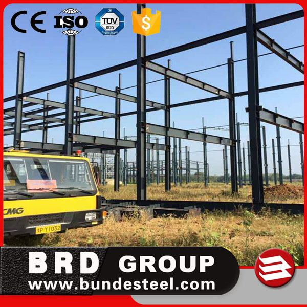 Q345B light steel frame workshop/steel roof construction structures warehouse price
