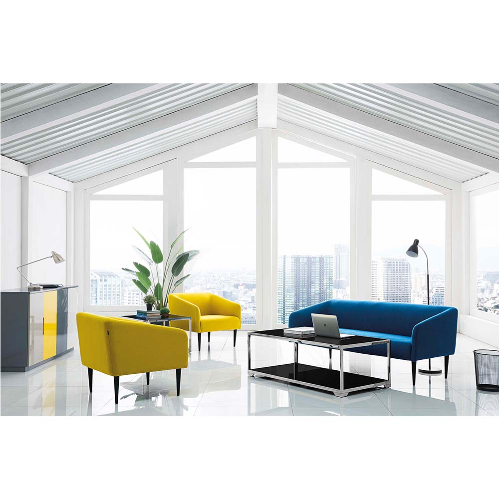 Barcelona 3 Seat Sofa Set Designs Couch Living Room Sofa Yellow