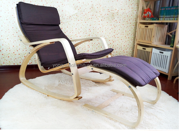 POANG Wooden frame bentwood rocking chair & Poang Wooden Frame Bentwood Rocking Chair - Buy Birch Wood Rocking ...