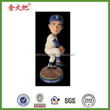 Customized promotion resin sandy koufax bobblehead