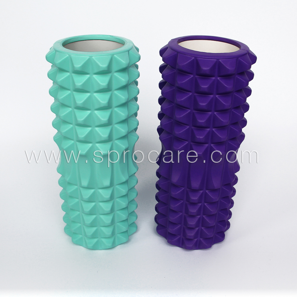 SP-FR5 Extreme Muscle Foam Roller,High Density Grid Provides Deep Massage For Tight Muscles,For Pilates, Exercising, Yoga