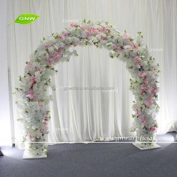 Gnw Flwa1707008 New Hot Wedding Flower Arch Cherry Blossom