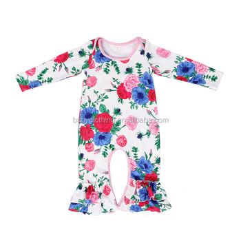 d463fbae95be Wholesale Children s Boutique Clothing Blue Pink Floral Winter ...