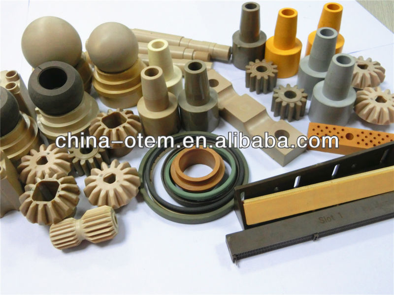 wear resistance engineering plastic UHMWPE/Nylon/POM/PTFE/PVDF etc products