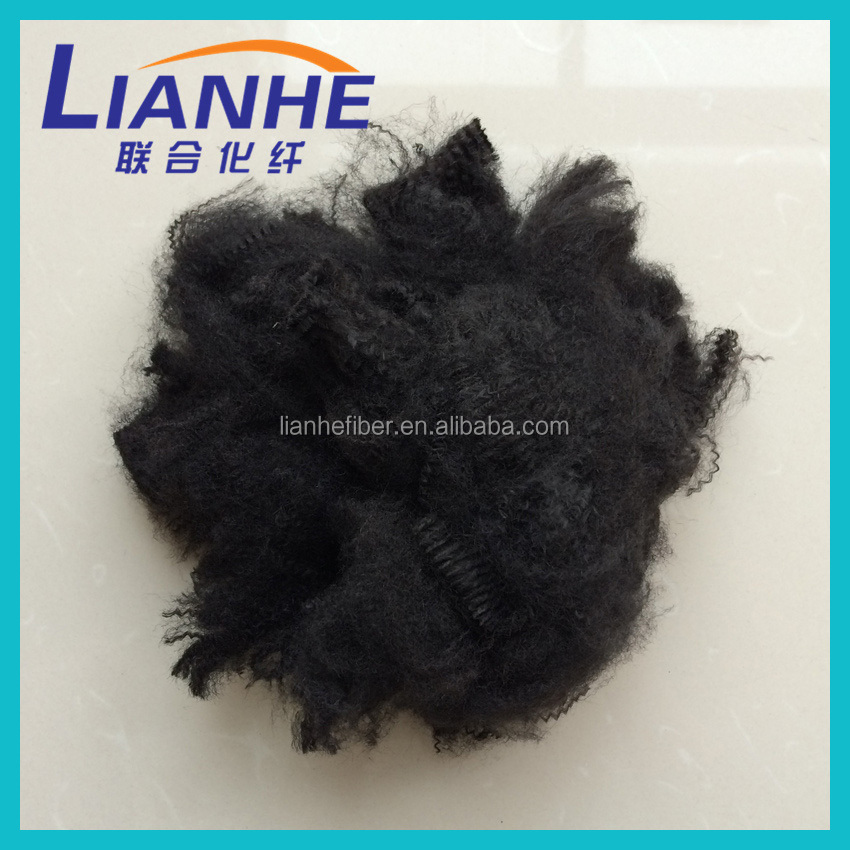 PSF,pet bottles recycle polyester staple fiber,polyester staple fiber for auto mats