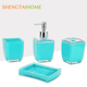 china wholesale hot selling bath accessory set for toilet bowl clean